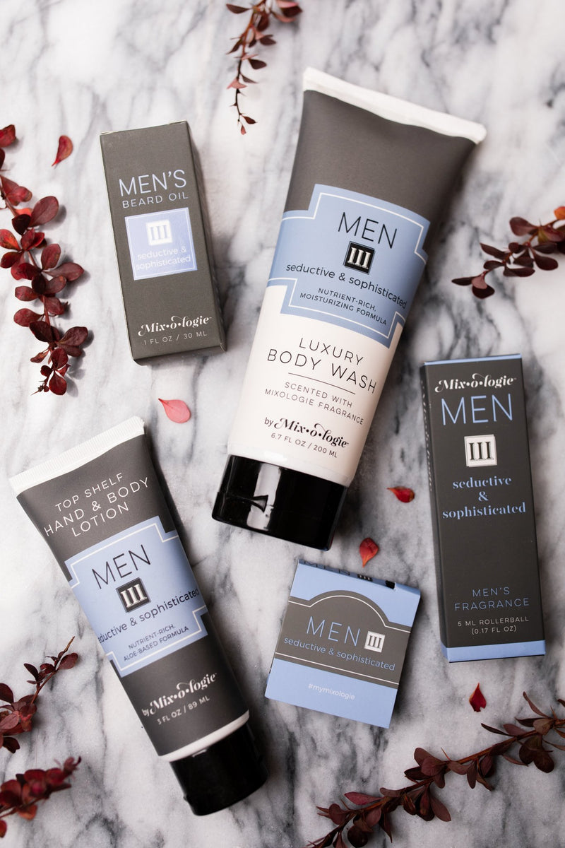 Seductive and Sophisticated Men's Hand and Body Lotion