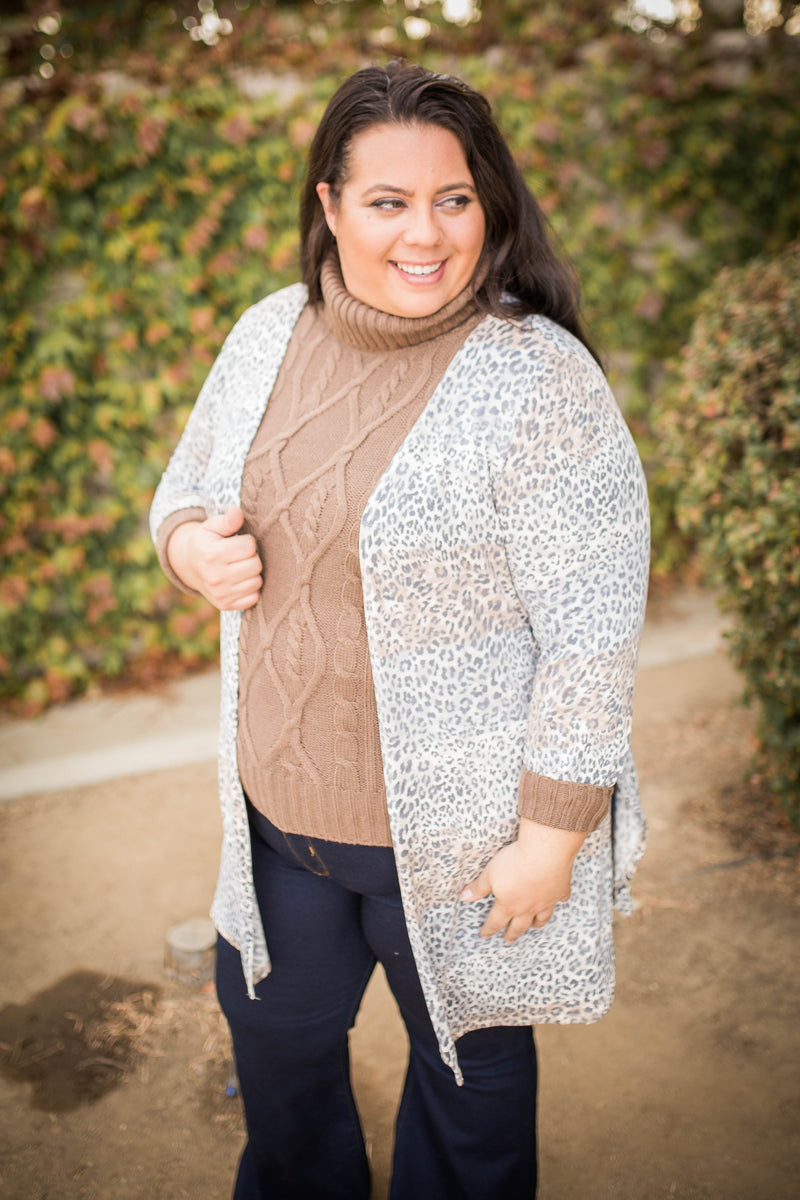Snow Capped Saharas Cardigan