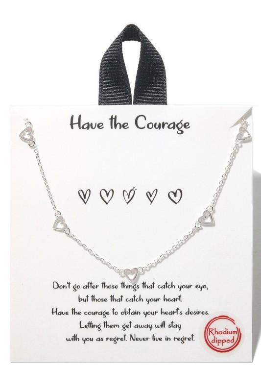 Hearts and Chains Necklace