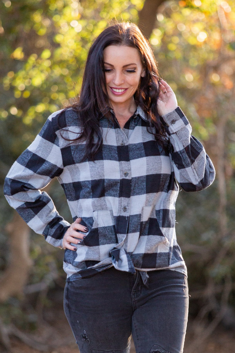 Charcoal Shores Flannel
