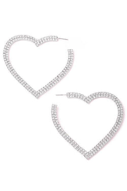 Heartthrob Hoop Earrings