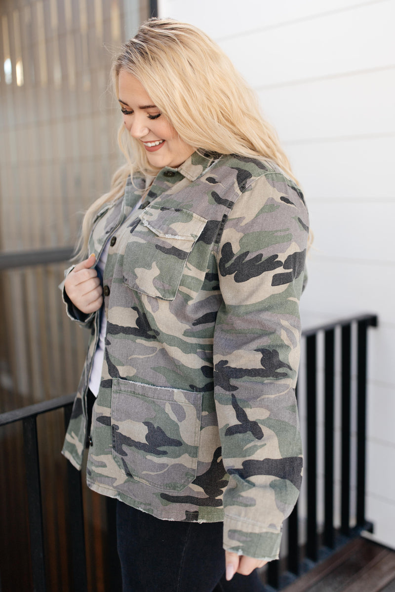 Basic Training Camo Jacket