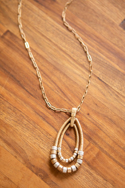 Beaded in Time Layered Necklace
