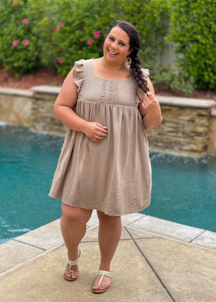 Skip To My Lou Babydoll Dress