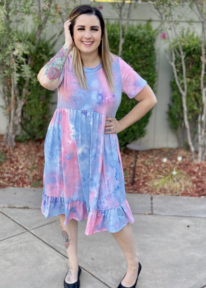 Arizona Skies T-Shirt Dress