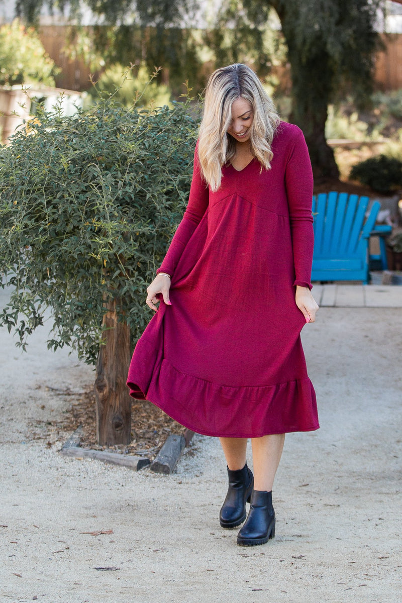 Magical Evening Long Sleeve Dress