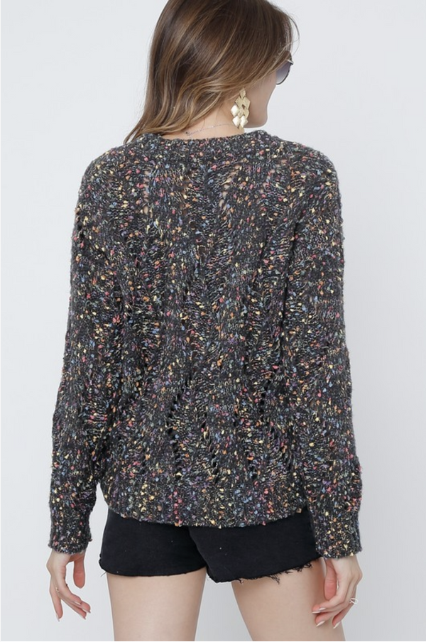Northern Lights Confetti Sweater