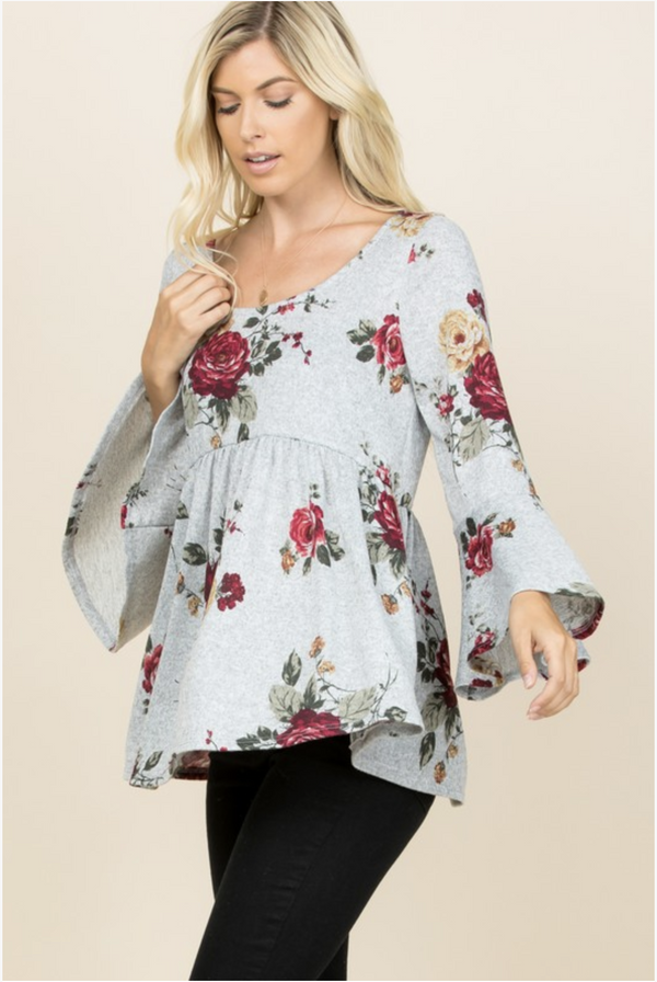 Secret Garden Babydoll Tunic