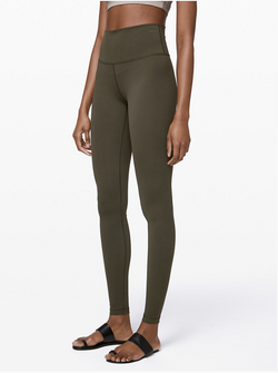 "Olive 5"" Yoga Band Leggings"