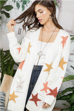 You're One of a Kind Star Cardigan