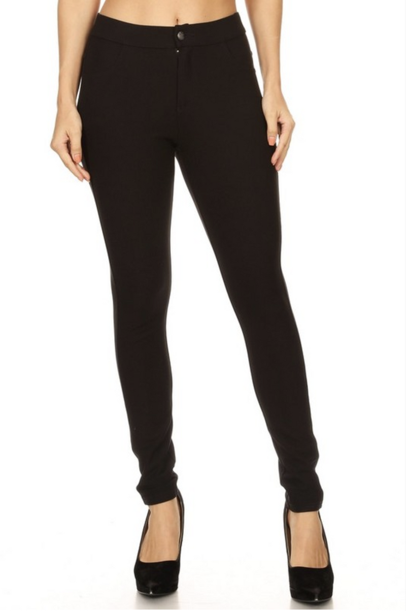 The Best Ponte Pants Ever in Black