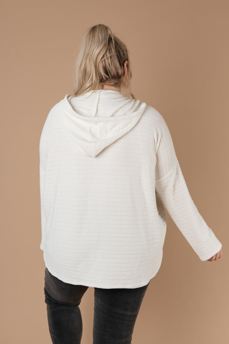 Super Soft Ribbed Hoodie