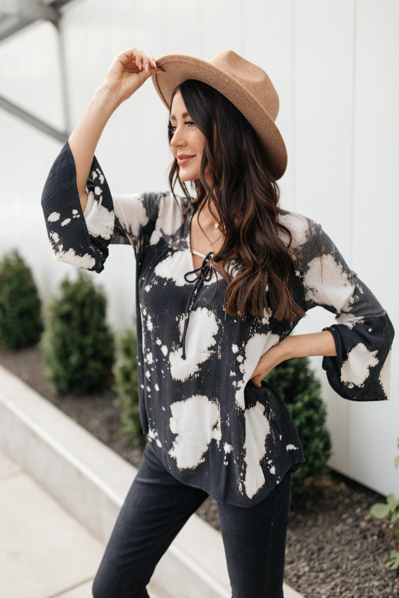 Top It Off With A Bow Blouse