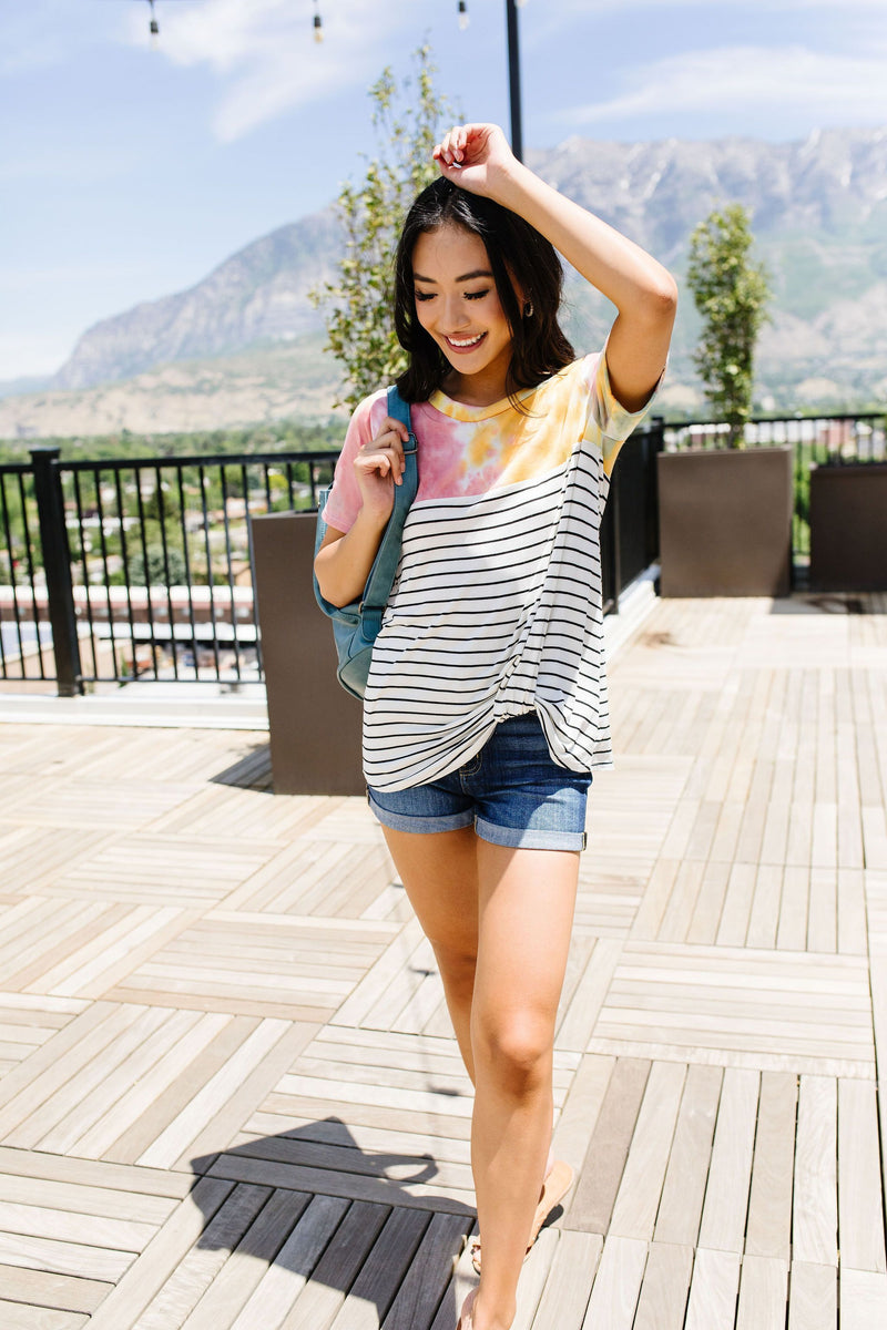 Dying For Stripes Top