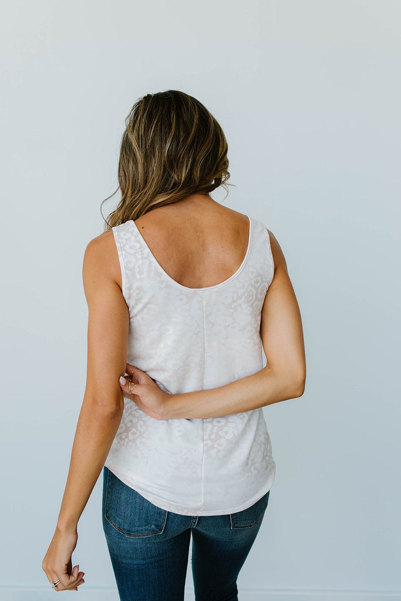 Faded Taupe Tank
