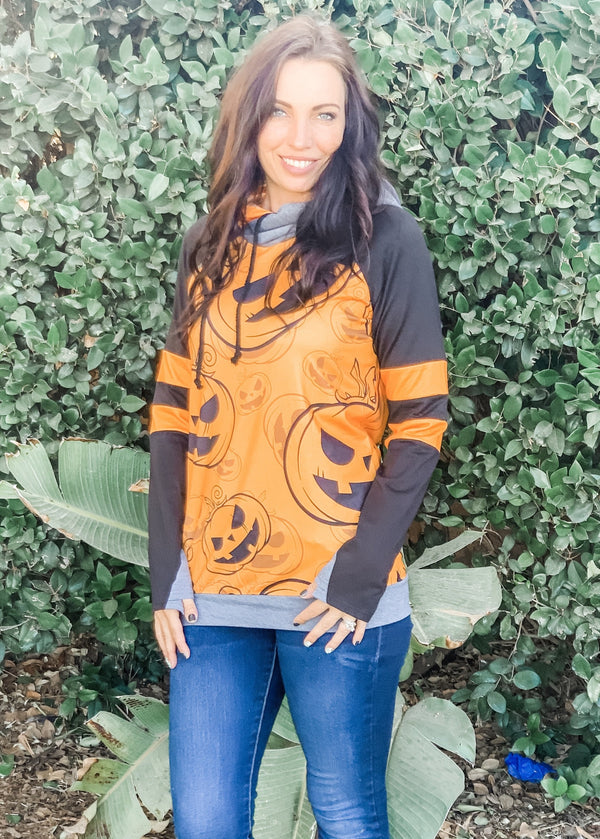 Pumpkin Patch Double Hoodie