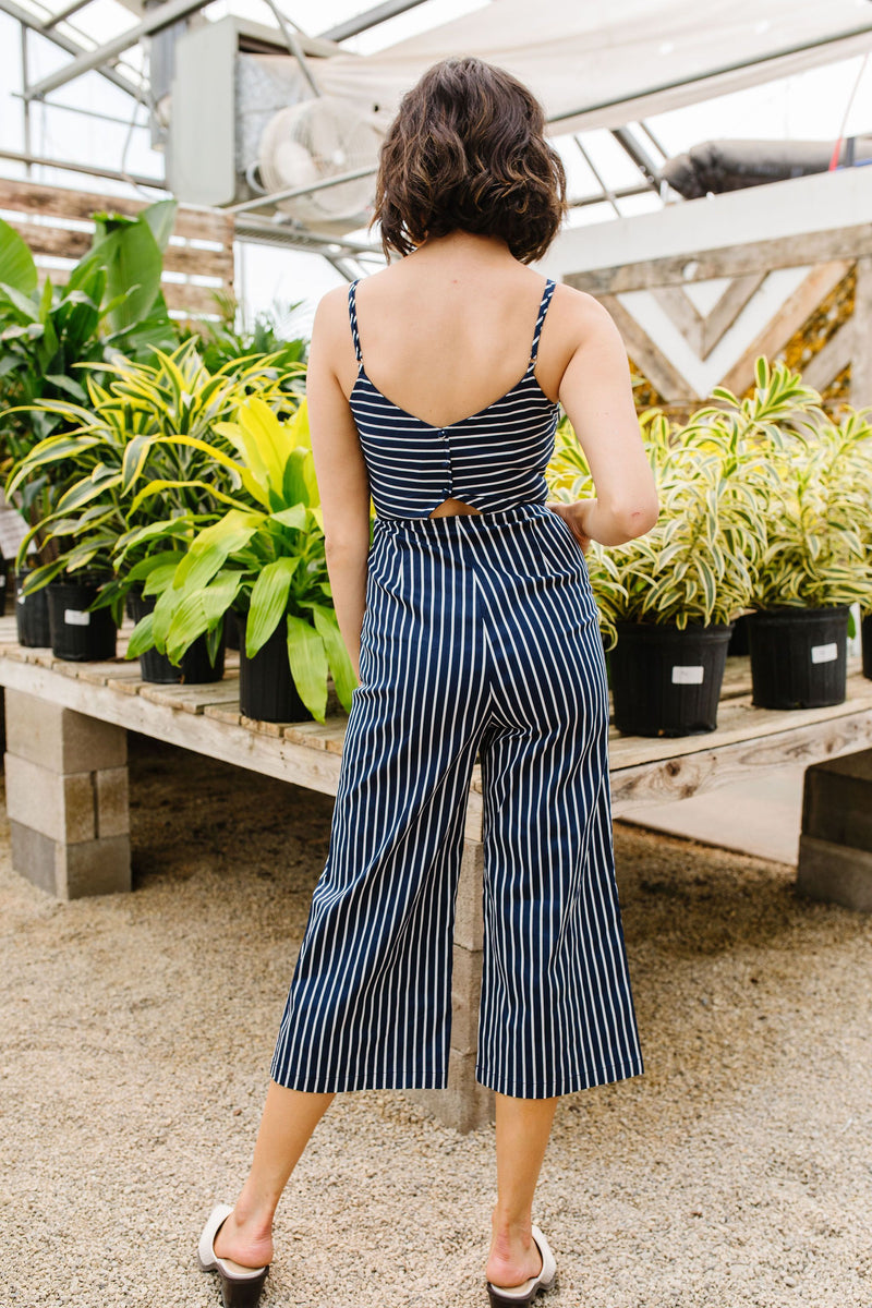 Margaret Maritime Stripes Jumpsuit