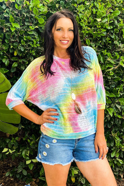Pixie Dust Loose Knit top