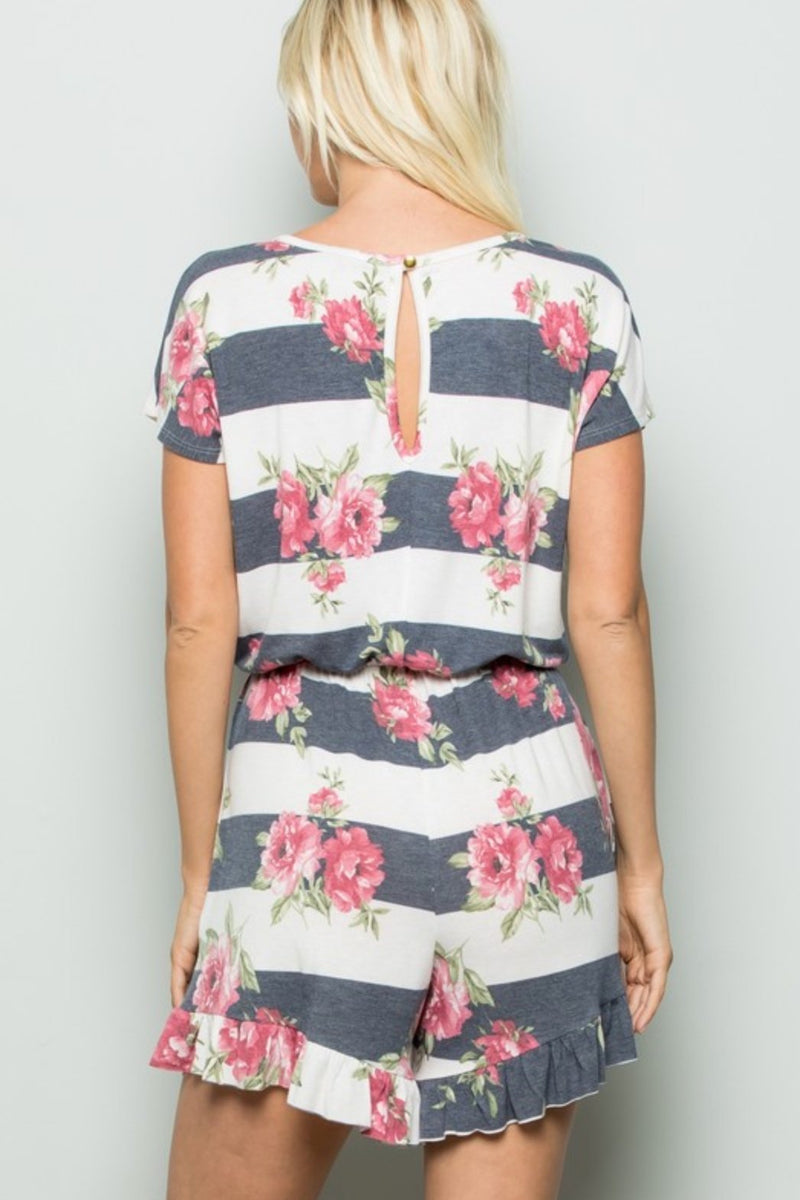 Fading Into You Romper