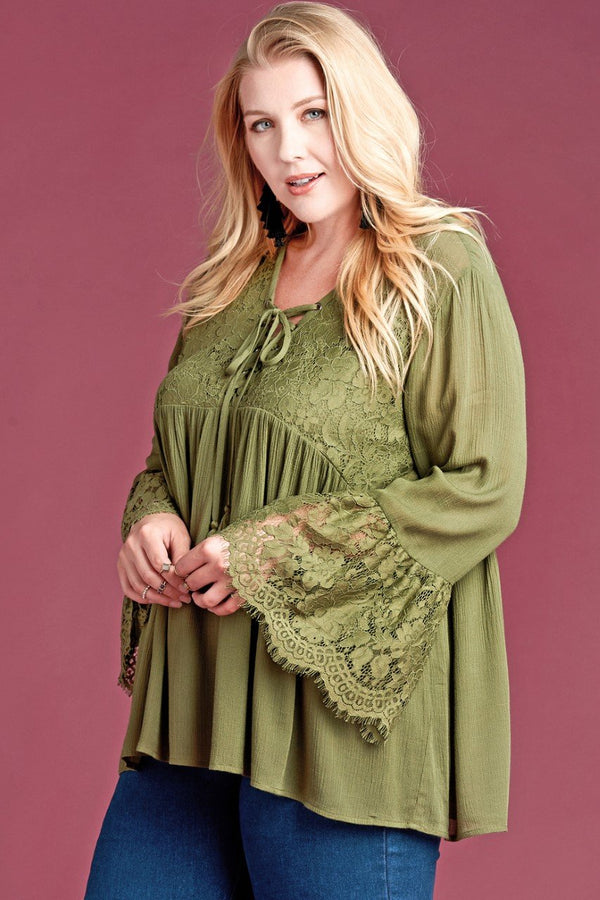 Royal Love Babydoll Tunic