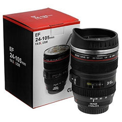 Camera Lens Coffee Keep Cup EF 24-105mm