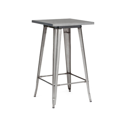 -Dreux Steel Bar Table 42 Inch--MODTEMPO
