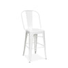 Dreux Steel Counter Chair 24 Inch (Set of 4)