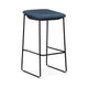 Modello Barstool Blue Fabric Seat (Set of 2)