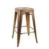 -Dreux Steel Stackable Counter Stool 26 Inch (Set of 4)--MODTEMPO