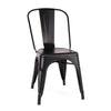 -Dreux Steel Stackable Side Chair (Set of 2)--MODTEMPO