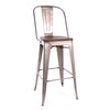 -Dreux Steel Bar Chair 30 Inch (Set of 4)--MODTEMPO