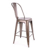 Dreux Steel Counter Chair 26 Inch (Set of 4)