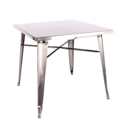 DesignLabMN-Dreux Steel Dining Table 30 Inch-MODTEMPO-MODTEMPO