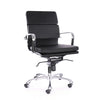 DesignLabMN-Century Padded Modern Classic Aluminum Office Chair-Office Chairs-MODTEMPO