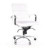 Century Padded Modern Classic Aluminum Office Chair