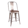 -Dreux Steel Counter Chair 24 Inch (Set of 4)--MODTEMPO