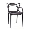 DesignLabMN-Masters Modern Stackable Arm Chair (Set of 4)-Dining Arm Chair-MODTEMPO