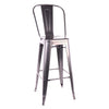 DesignLabMN-Dreux Steel High Back Barstool 30 Inch (Set of 4)-Barstools-MODTEMPO