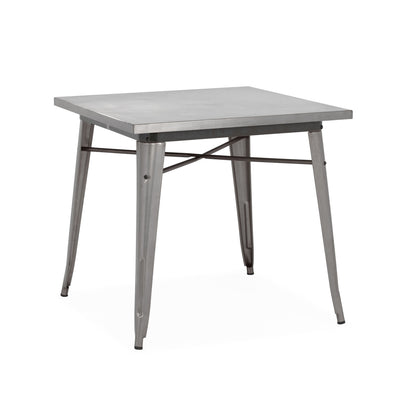 Dreux Steel Dining Table 30 Inch