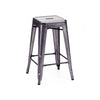 Dreux Steel Stackable Counter Stool 26 Inch (Set of 4)