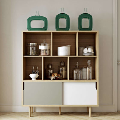 Tema Home-Dann Cupboard w/ Wood Legs 163011-DANNCUP-Sideboard-MODTEMPO