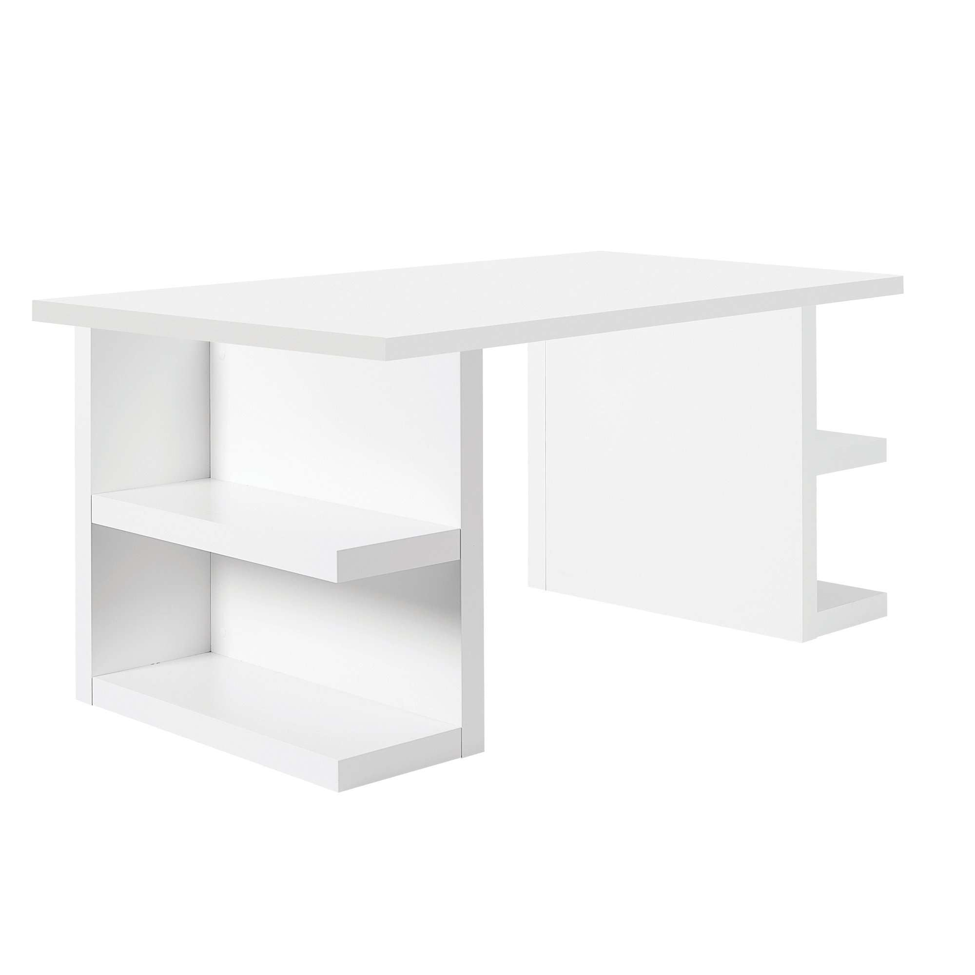 "Tema Home-Multi 71"" Table Top w/ Storage Legs 077040-MULTI71S-Dining Table-MODTEMPO"