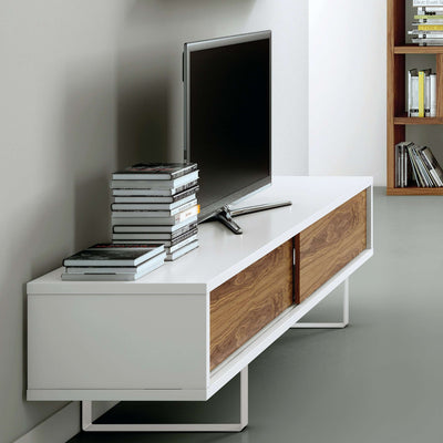 Tema Home-Slide Low With Doors & Feet 106060-SLIDELOW-Sideboard-MODTEMPO