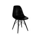 Trige Mid Century Side Chair Black Base (Set of 2)