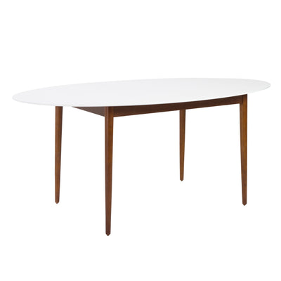 Nouveau Select-Mannie Oval Dining Table-Dining Tables-MODTEMPO