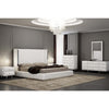 Whiteline Modern Living-Abrazo Tufted Headboard Bed-Bed-MODTEMPO