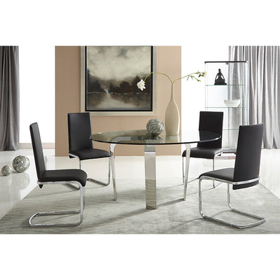 Bellini-Cyrus Dining Tablle Base (only)-Dining Tables-MODTEMPO