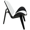 Arch Vinyl Lounge Chair EEI-1050