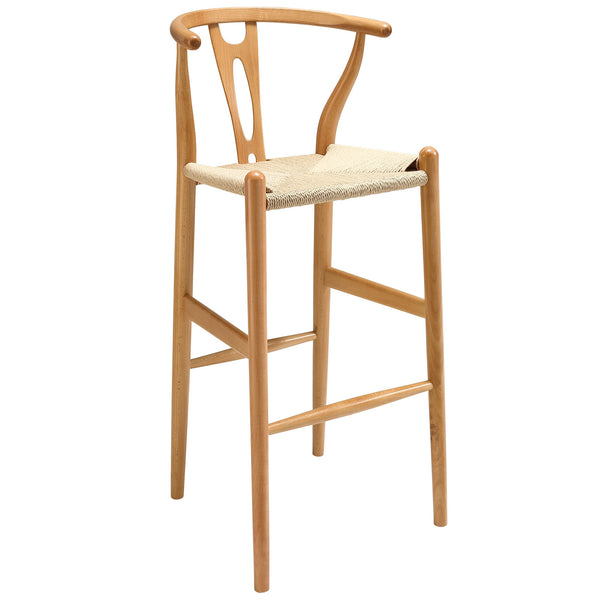 Amish Wood Bar Stool EEI-1079