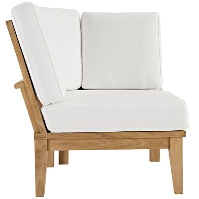 Marina Outdoor Patio Teak Corner Sofa EEI-1146